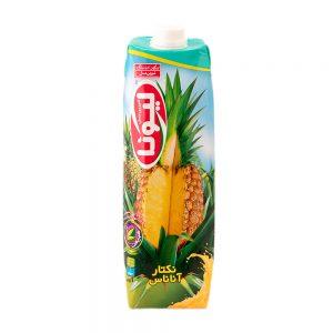 آبمیوه تتراپک لیونا آناناس 1لیتری شیرین عسل