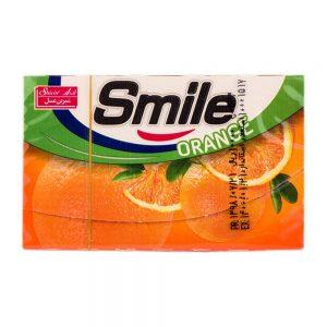 آدامس استیک پرتقال 7 عددی اسمایل  شیرین عسل