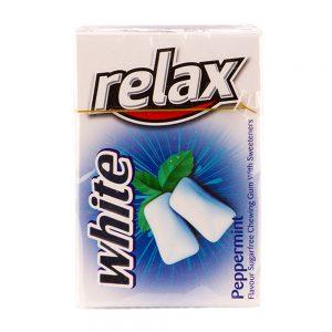آدامس با طعم نعناع تند سفید 20 عددی 23 گرمی ریلکس