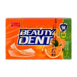 آدامس بیوتی دنت بدون قند پرتقال 7عددی شیرین عسل
