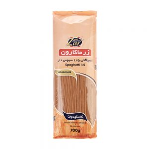اسپاگتی 1.5 سبوس دار 700 گرمی زر