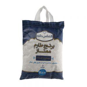 برنج ایرانی طارم 5 کیلویی الماس دانه