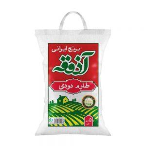 برنج طارم دودی 5 کیلویی آذوقه