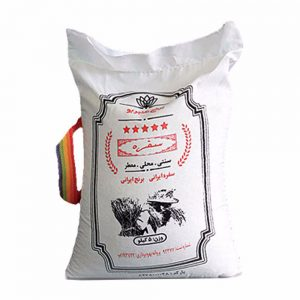 برنج عنبربو 5 کیلویی همتی