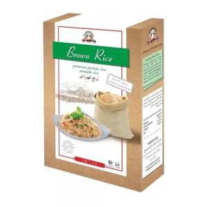 برنج قهوه ای 1 کیلوگرمی پنگوئن