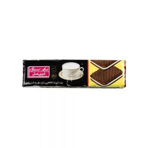 بیسکوییت کرمدار کاکائویی 120 گرمی شیرین عسل