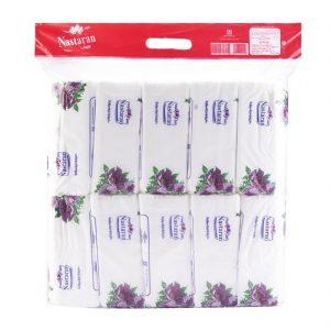 دستمال کاغذی 200 برگ 10 عددی نسترن