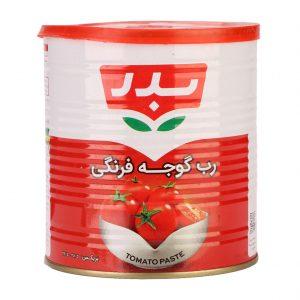 رب گوجه فرنگی ( درب ایزی اپن ) قوطی 800 گرمی بدر
