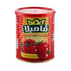 رب گوجه فرنگی بازشو 400 گرمی فامیلا