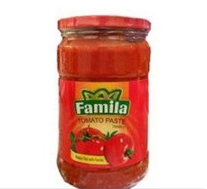 رب گوجه فرنگی شیشه ای 700گرم فامیلا