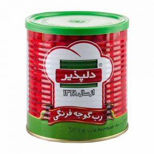 رب گوجه فرنگی قوطی آسان بازشو800 گرمی دلپذیر
