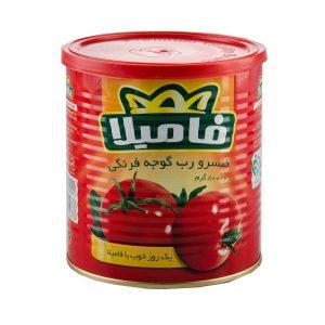 رب گوجه فرنگی 800 گرمی فامیلا