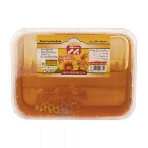 عسل با موم 400 گرمی برتر