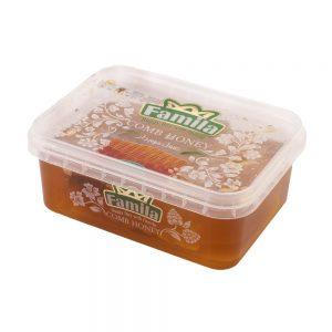 عسل موم دار 450 گرمی فامیلا