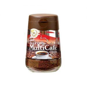 قهوه کلاسیک شیشه ای 100 گرمی مولتی کافه