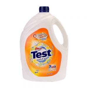 مایع ظرفشویی با رایحه لیمو 3.75 لیتری تست