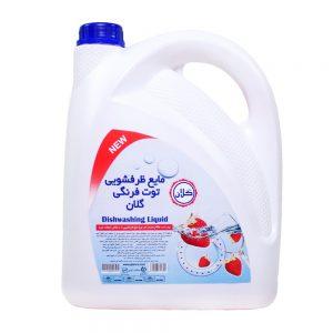 مایع ظرفشویی توت فرنگی 3750 گرمی گلان