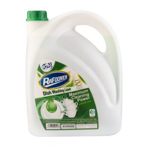 مایع ظرفشویی سبز 3750 گرمی رافونه
