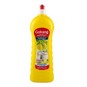 مایع ظرفشویی طرح 2 زرد 1000 گرمی گلرنگ