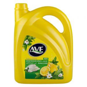 مایع ظرفشویی لیمویی 3750 گرمی اوه