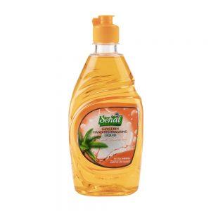مایع ظرفشویی گلیسیرینه نارنجی 500 میلی لیتری صحت