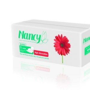 نوار بهداشتی بالدار فلاف بزرگ 10 عددی نانسی