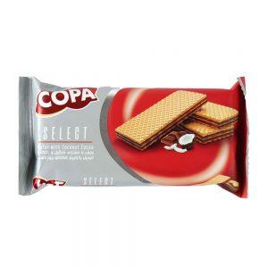 ویفر سلکت نارگیل و کاکائو 45 گرمی کوپا