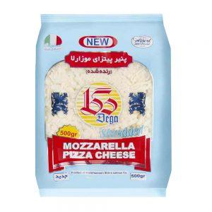 پنیر رنده موزارلا 500 گرمی دگا