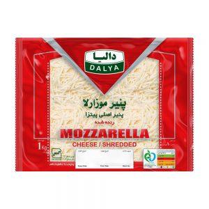 پنیر موزارلا رنده شده 1000 گرمی دالیا