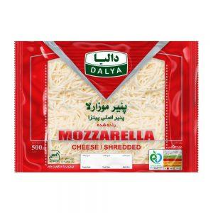 پنیر موزارلا رنده شده 500 گرمی دالیا