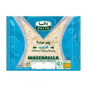 پنیر موزارلا کم چرب رنده شده 250 گرمی دالیا