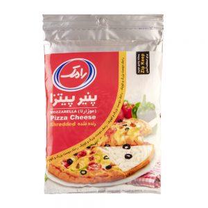 پنیر پیتزا رنده شده موزارلا 500 گرمی رامک