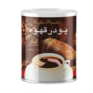 پودر قهوه قوطی فلزی 100 گرمی فرمند