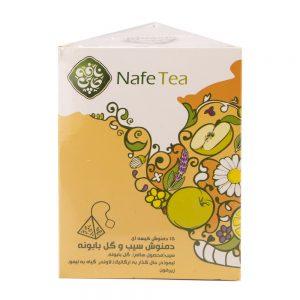 چای بابونه و سیب اورگانیک 30 گرمی نافه