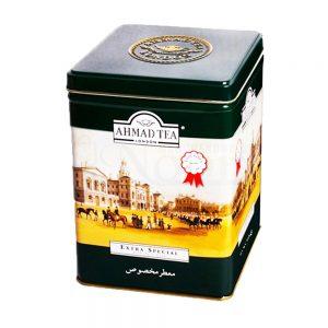 چای معطر مخصوص قوطی فلزی 500 گرمی احمد