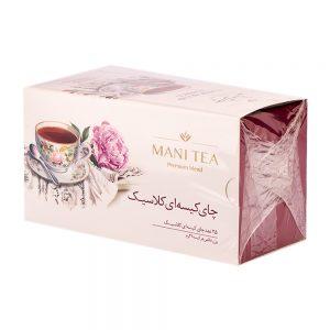 چای کیسه ای کلاسیک 25 عددی 50 گرمی تشریفات