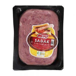 ژامبون گوشت وکیوم  90% 250 گرمی صدک