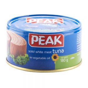 کنسرو تن ماهی در روغن افتابگردان 180 گرمی پیک