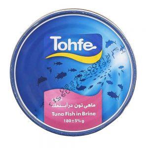 کنسرو تن ماهی رژیمی کلیدار هوور 180 گرمی تحفه