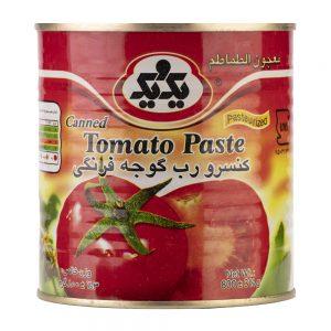 کنسرو رب گوجه فرنگی درب آسان باز شو 800 گرمی یک و