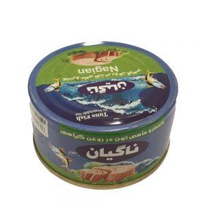 کنسرو ماهی تن 180 گرمی ناگیان