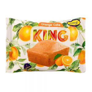 کینگ کیک پرتقالی 50 گرمی گرجی