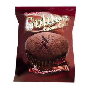 کیک طلایی کاکائویی 70گرمی درنا