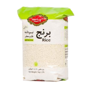 برنج ایرانی نیم دانه طارم 1 کیلویی گلستان