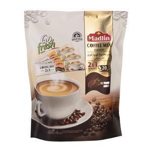 پودر قهوه فوری20 عددی 2 در 1 280 گرمی مادلین