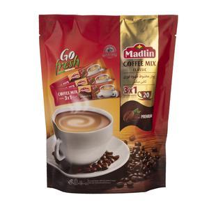پودر قهوه فوری20 عددی 3 در 1 360گرمی مادلین