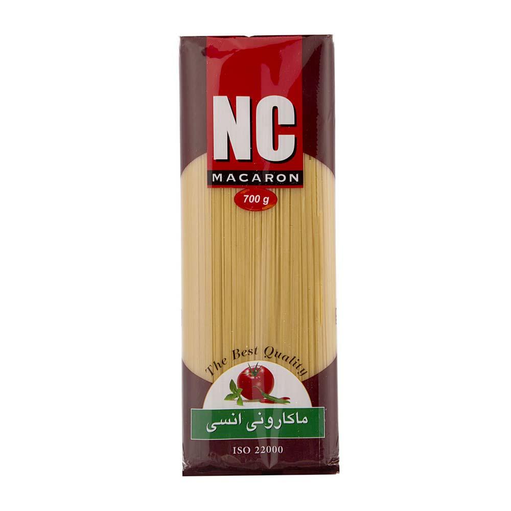 اسپاگتی غنی شده 700گرمی انسی